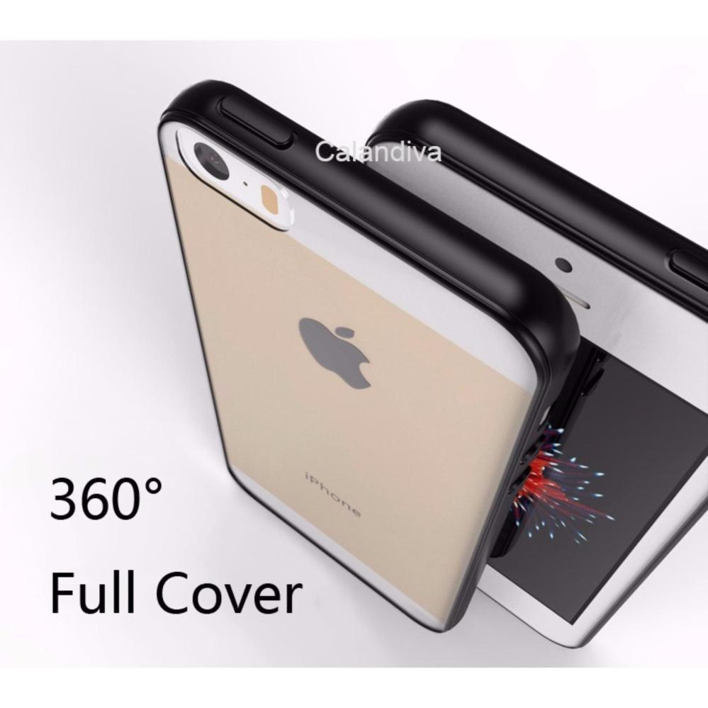 ... Calandiva Transparent Shockproof Hybrid Premium Quality Grade A Case for Iphone 5 / 5s / 5 ...