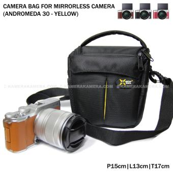 Camera Bag for Mirrorless Camera - Andromeda 30 (Yellow) for FujiFilm X-A3, X-A2, X-T10, Canon EOS M10, EOS M3, Sony @6000, @5000, Etc
