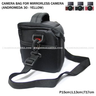 Camera Bag for Mirrorless Camera - Andromeda 30 (Yellow) for FujiFilm X-A3, X-A2, X-T10, Canon EOS M10, EOS M3, Sony @6000, @5000, Etc