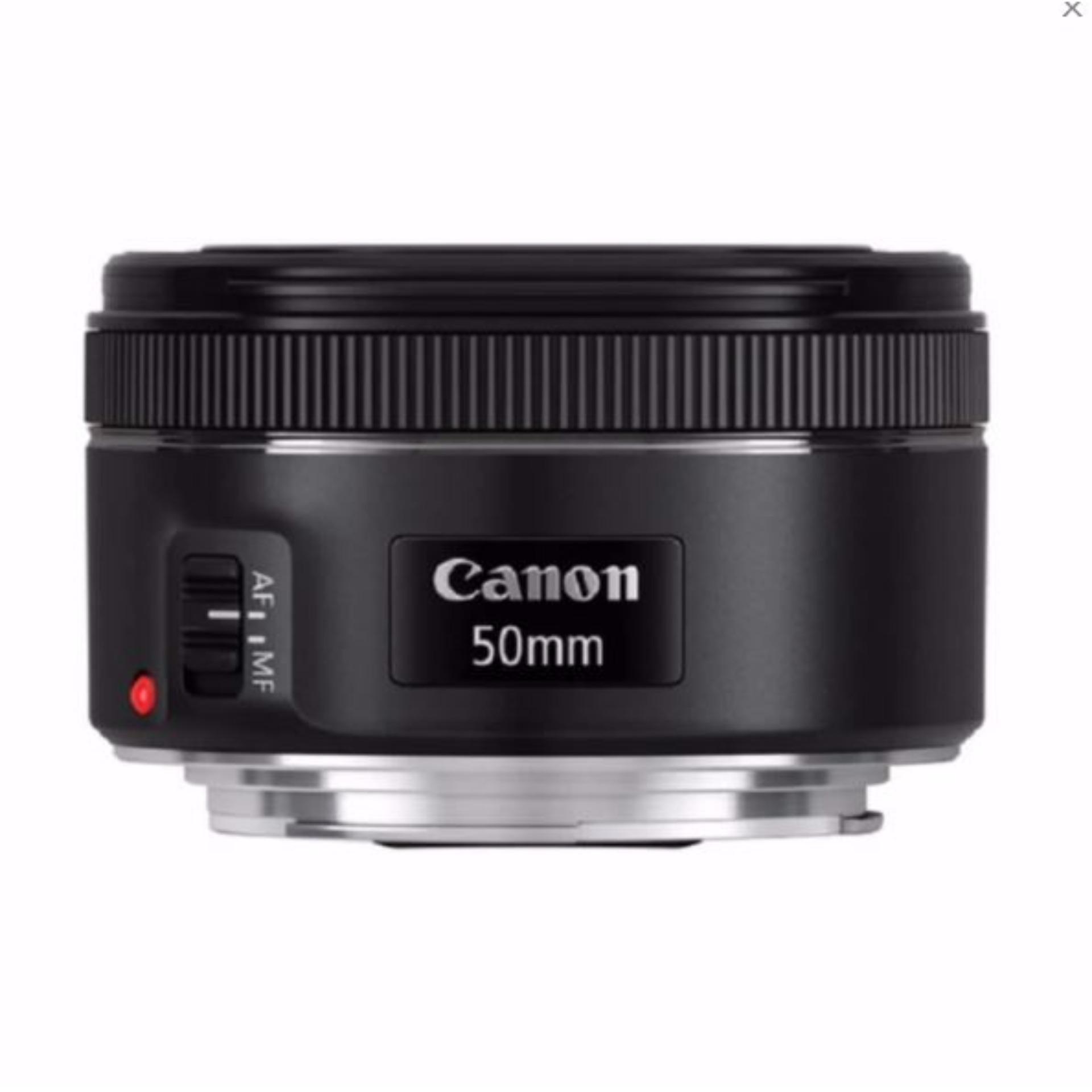 Canon EF 50mm f/1.8 STM Lens - Hitam (garansi resmi) ...