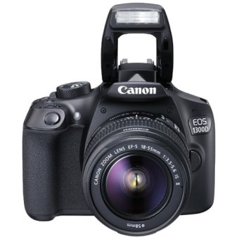 Canon EOS 1300D 18MP with Lens 18-55mm IS II