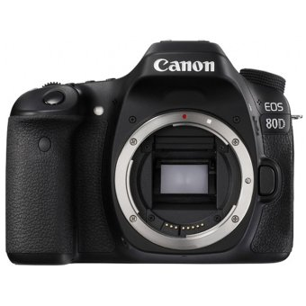 Canon EOS 80D Body Only WiFi - Hitam