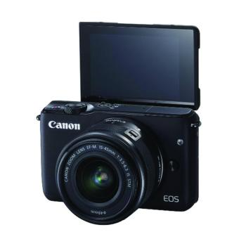 Canon EOS M10 kit 15-45mm - Hitam