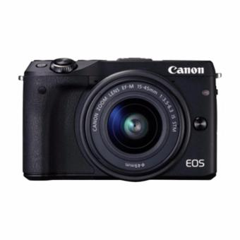 Canon - EOS M3 EF-M15-45 IS STM - Hitam (Resmi Canon)