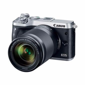 Canon EOS M6 Kit 18-150mm Kamera Mirrorless - Silver