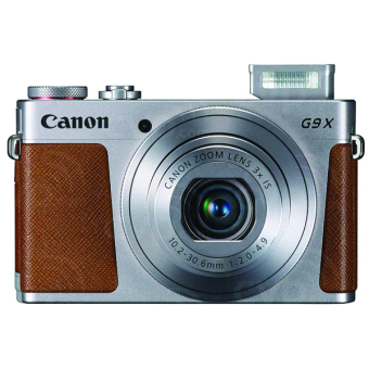 Canon PowerShot G9 X - 20.2 MP - Silver