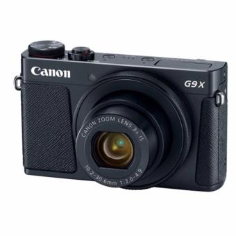Canon PowerShot G9 X Mark II Hitam