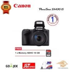 Canon PowerShot SX430 IS Wi-Fi Free Memori 16 GB Promo