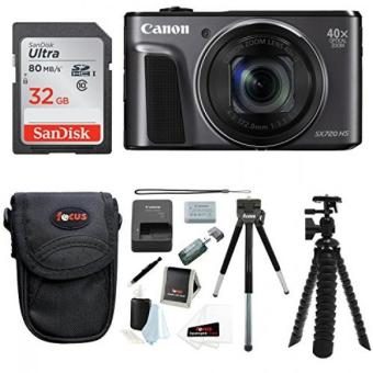 Canon PowerShot SX720 HS Digital Camera w/ 32GB SD Card & Accessory Bundle - intl