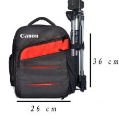 Canon Tas Kamera DSLR Ransel Medium Free Rain Cover Kode E