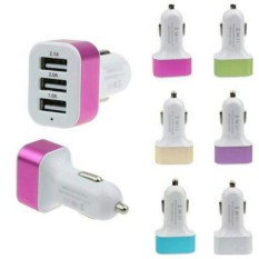 Car Charger 3 USB 5.1A 3 Port Charger Hp di Mobil - Charger Hp Di Mobil