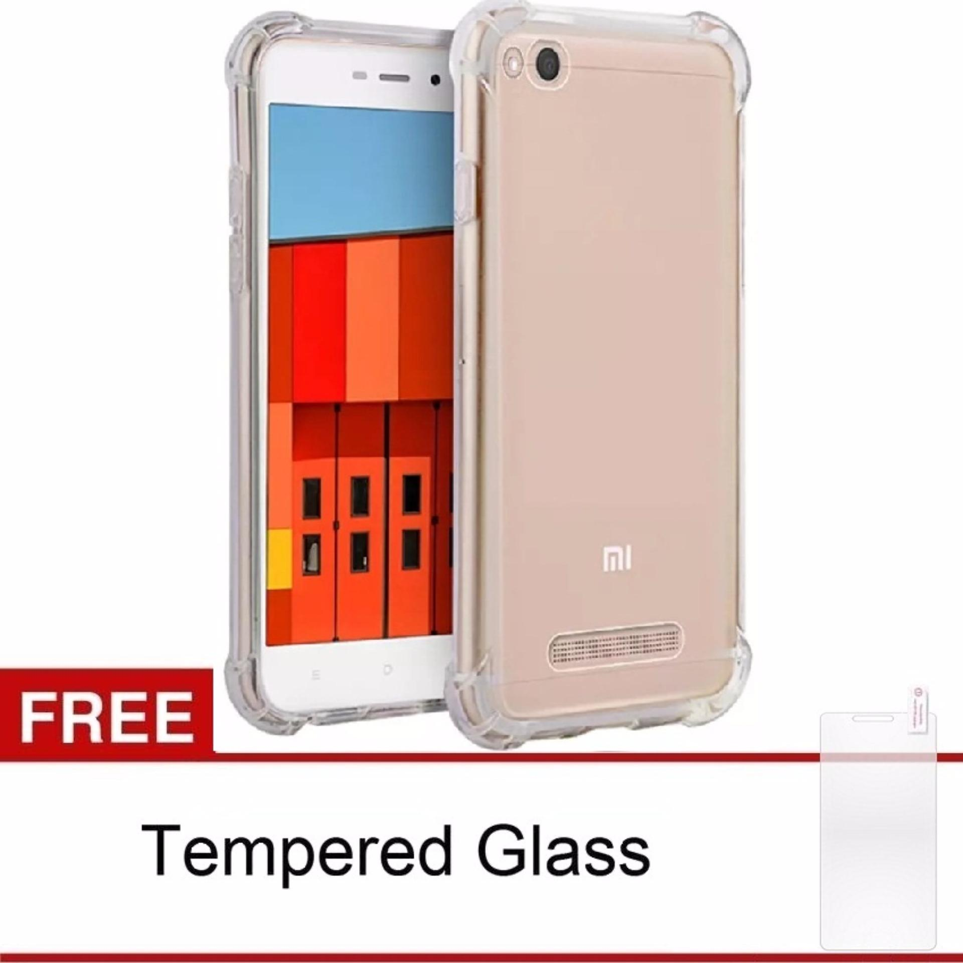 Case Anti-Crack Xiaomi Redmi 4A TPU Softcase (Clear) FREE .