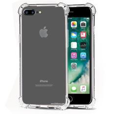 Case Anti Shock / Anti Crack Elegant Softcase  for Apple iPhone 7 Plus - White Clear