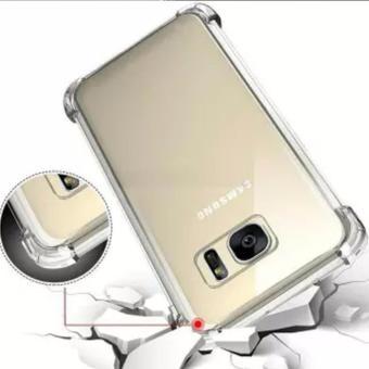 Case Anti Shock / Anti Crack Elegant Softcase for Samsung Galaxy S8 (biasa) - Clear + Free 1x Pop Socket - 2