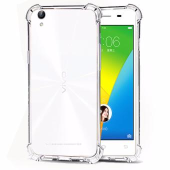 Case Anti Shock / Anti Crack Elegant Softcase for Vivo Y51 - White Clear