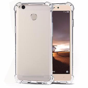 Case Anti Shock / Anti Crack Elegant Softcase for Xiaomi Redmi 3s Pro - White Clear
