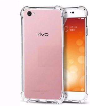 Case Anti Shock Anti Crack Softcase Casing for Vivo Y21 / Y25 - Clear