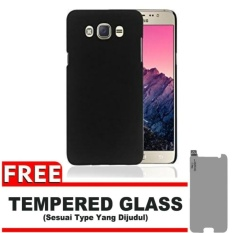 Case Black Moon Samsung Galaxy J2 Prime  Ultra Slim Matte Softcase (Anti Minyak) FREE Tempered Glass