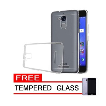 Case Chanel Softcase cover Ultrathin for Asus Zenfone 3 Max ZC520TL- CLEAR FREE TEMPERED GLASS