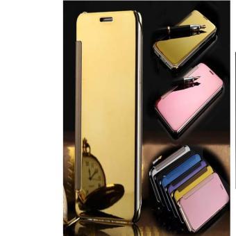 ... Case Executive Samsung Galaxy J7 Pro Flipcase Flip Mirror Cover S View Transparan Auto Lock Casing