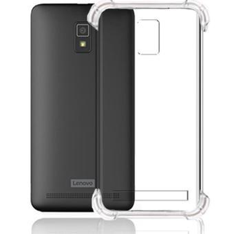 Case for Lenovo A6600 / A6600+ Plus | Anti Crack / Anti Pecah / Anti Shock Shockproof Elegant Softcase - Putih Bening Transparant
