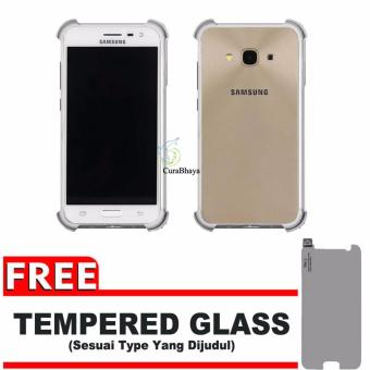 Anti Crack Softcase Casing for Samsung J7 2016 / J710 - Clear.