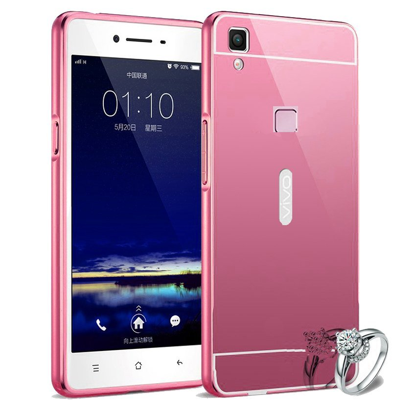 Beli Infinix X553 Store Marwanto606 Source · Case For Vivo V3 Bumper Slide Mirror Rose Gold