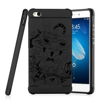 Case For Xiaomi Redmi 4a Slim Dragon Shockproof Hybrid Case Series-Hitam