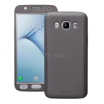 Case Front Back 360 Degree Full Protection for Samsung Galaxy J210/ J2 2016 - Grey+