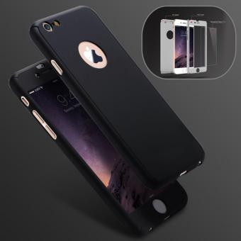 Case Hardcase 360 Full Body Depan Belakang Free Tempered Glass iPhone 6 / 6S - 2 ...