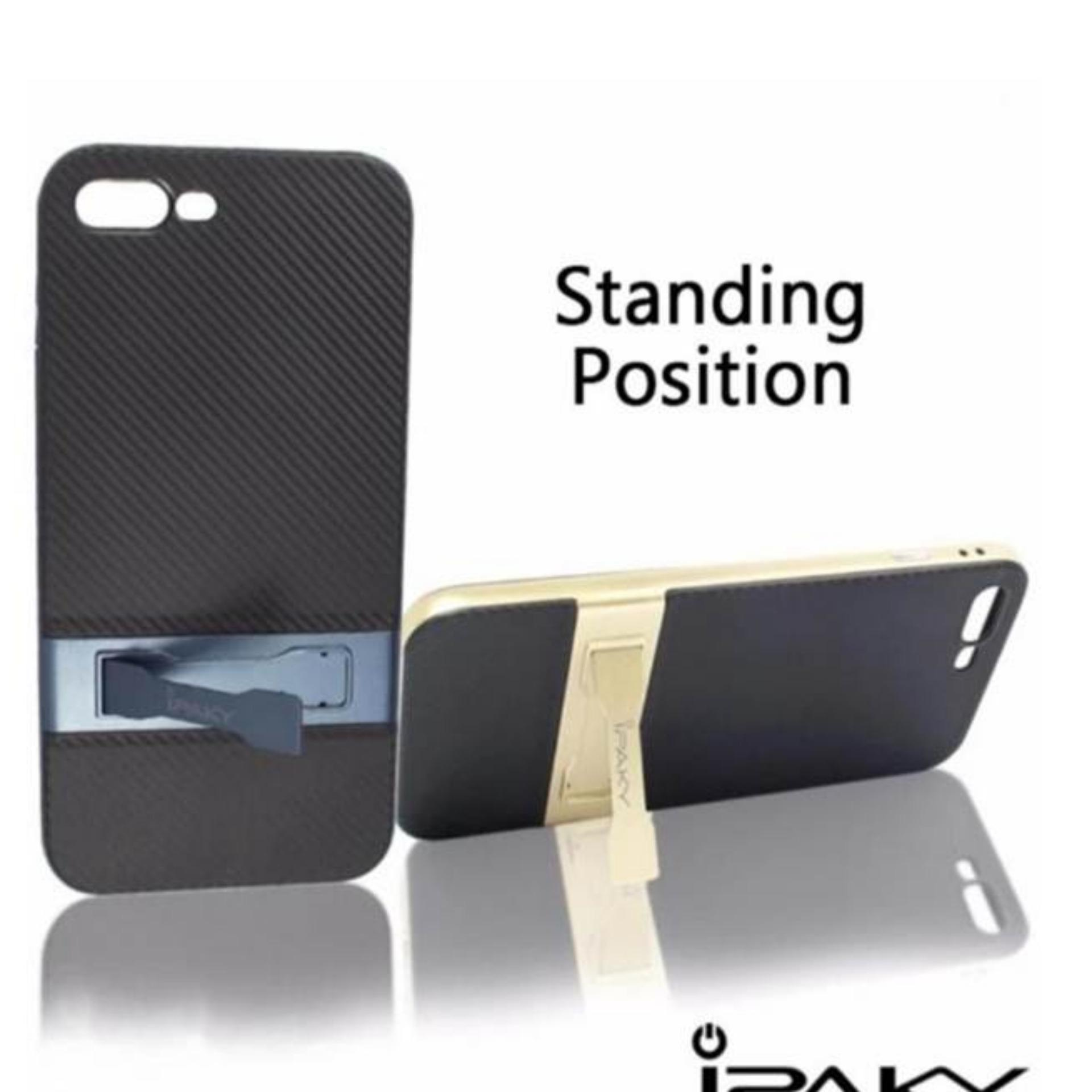 ... Case Ipaky Standing with Kick Stand Shockproof Dual Layer Back CaseCover for Samsung Galaxy A7 2017 ...