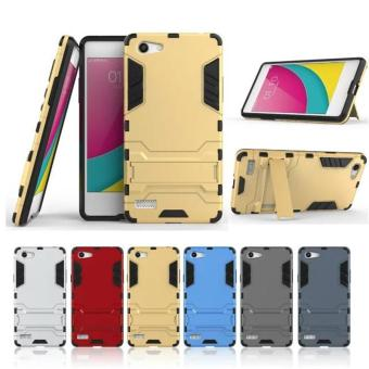 Case Iron Man for Oppo Neo 7 Transformer Ironman Limited - Emas -