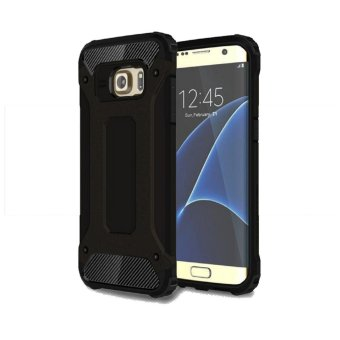 Case Tough Armor Rugged Capsule TPU Silicone Shockproof Back CaseSamsung Galaxy S6 - Black