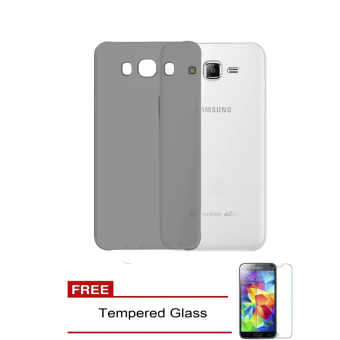 Case TPU Phone Case for Samsung Galaxy J5 / J500 - Abu + Free Tempered Glass