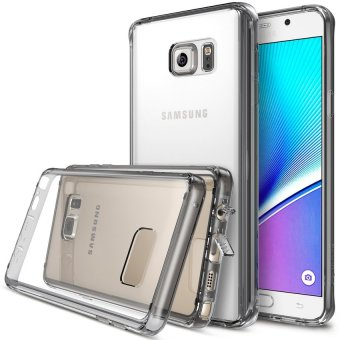 Case Ultrathin Shining Chrome Untuk Samsung Galaxy Note 4 - Black
