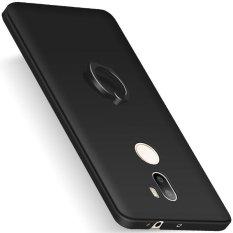 Case untuk Xiaomi Mi 5 S Plus Hard PC dengan Rotating Ring Grip Case Cover-Hitam-Intl
