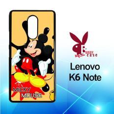 Casing Lenovo K6 Note Custom Hardcase HP Mickey Mouse Art X3645