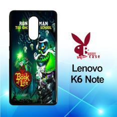 Casing Lenovo K6 Note Custom Hardcase HP The Book of Life Xibalba X3604
