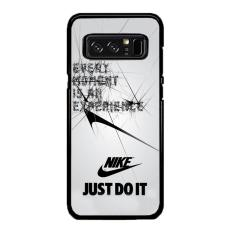 Casing Samsung Galaxy Note 8 Motif Every Moment is an Experiance Nike Logo