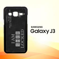Casing Untuk Samsung Galaxy J3 2016 Benedict Sherlock Wallpaper Movies E1117