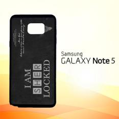 Casing Untuk Samsung Galaxy Note 5 Benedict Sherlock Wallpaper Movies E1117