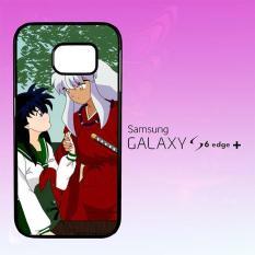 Casing Untuk Samsung Galaxy S6 Edge Plus inuyasha and kagome sweet moments Z1544