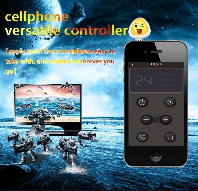 Cell Phone Smart IR Remote Control for TV Air Conditioner DVD FanCamera STB .