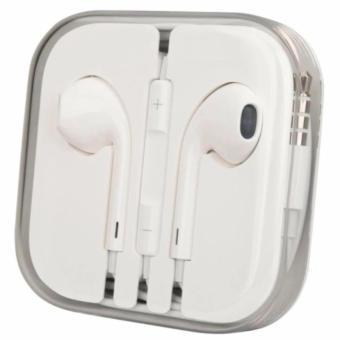Charger Apple Original 100% Travel Charger iPhone USB to Lighting 5/ 5G / 5S Original + GRATIS Handsfree Apple earpods Original -Putih - PM2902 - 2