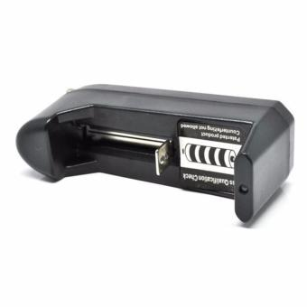 ... Charger Baterai Desktop Single Slot Baterai Vape Rokok Eletrik AWT 18650 18350 18500
