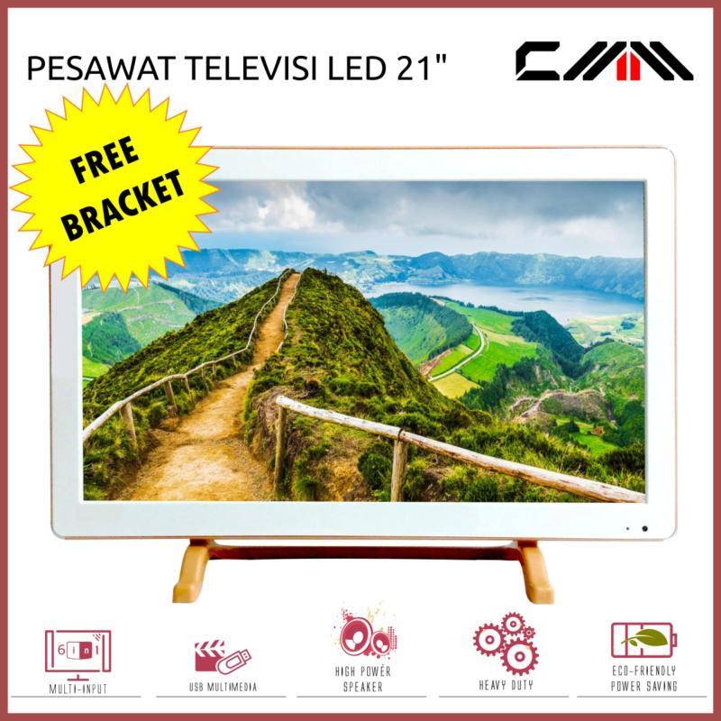 CMM - Televisi - TV MONITOR LED 21 inch Wide - USB Movie Ready - Free Bracket