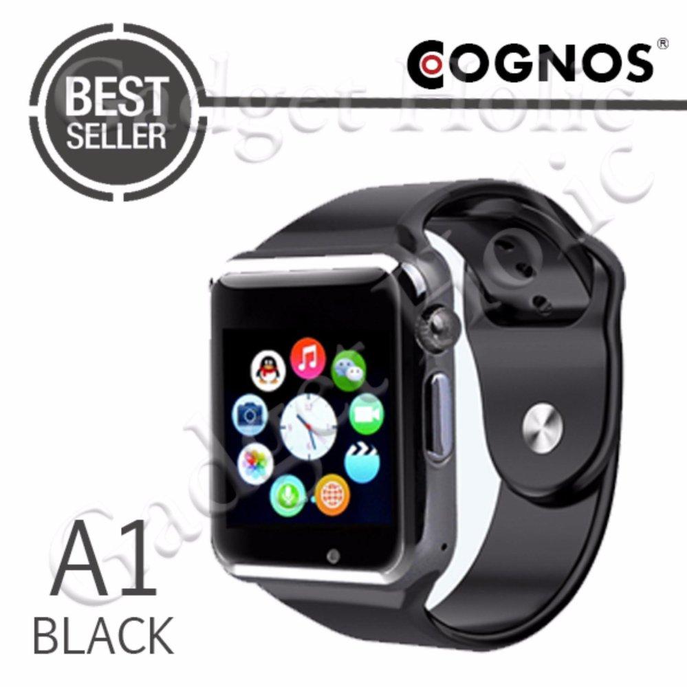 Pastimaksi Gadgets Hemat Cognos Smartwatch A1 Gsm Termasuk Box Xiaomi Huami Amazfit Cor International Version Hitam