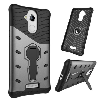 Coolpad Note5 Case Kickstand Rotate Stand Holder Protective ShellHybrid Bumper Armor Rubber Shockproof Case Cover for Coolpad Note 5- intl