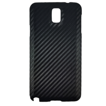 Delcell Carbon Case For Samsung Galaxy Note 3 - Hitam