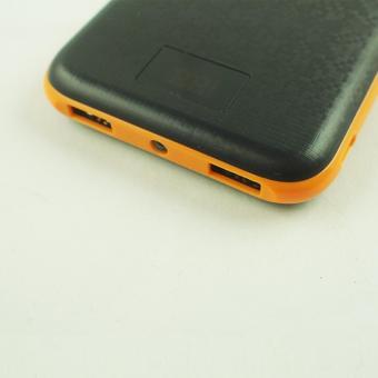 Delcell NUMERO Powerbank 10500mAh Real Capacity Digital Display - Black Orange - 2
